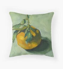 My Sweet Clementine Throw Pillow