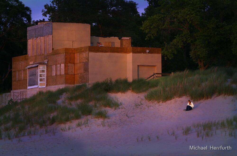 Beach House by Michael  Herrfurth