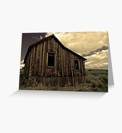 Bodie Califorina 4 Greeting Card