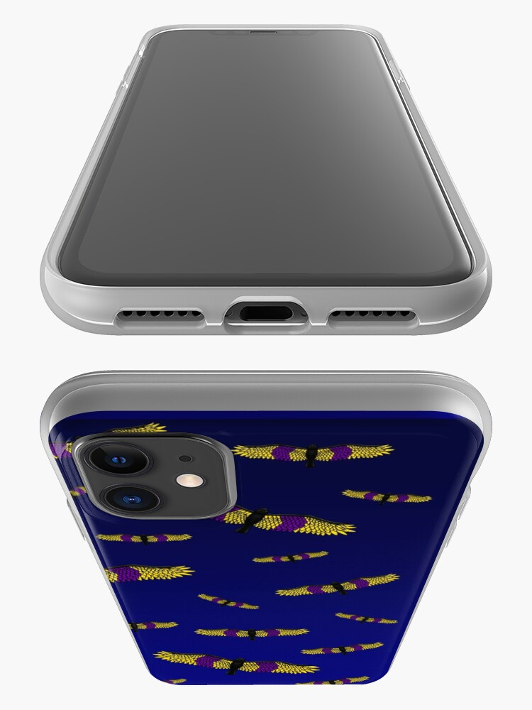Alternate view of Fly With Pride, Raven Series - Intersex iPhone Case & Cover