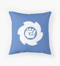Big White Throw Pillow