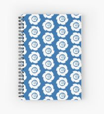 Big White Spiral Notebook
