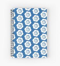 Big White Spiral Notebook