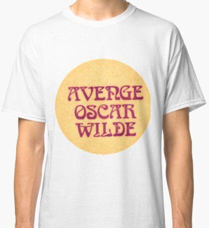 avenge oscar wilde Classic T-Shirt
