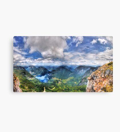 5 Fingers - Krippenstein (Austria) - 36 shot HDR Panorama Metal Print