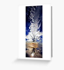 Morning Reflection - Shark Bay Western Australia  Greeting Card