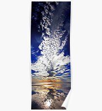 Morning Reflection - Shark Bay Western Australia  Poster