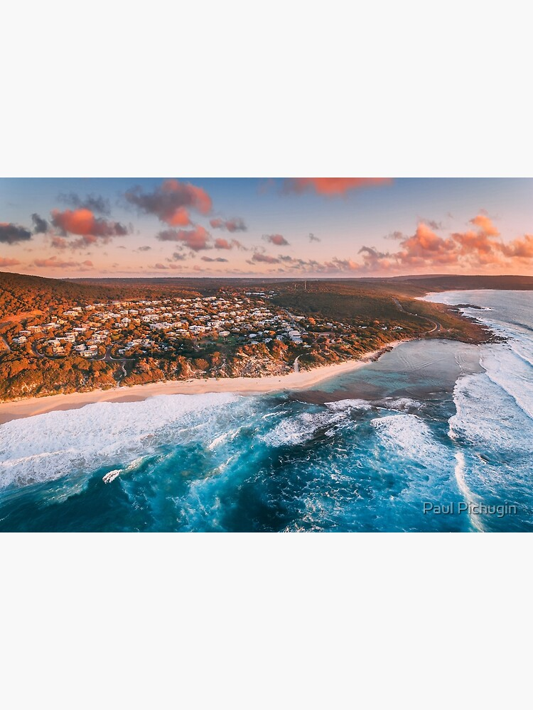 Yallingup Sunset Aerial by paulmp