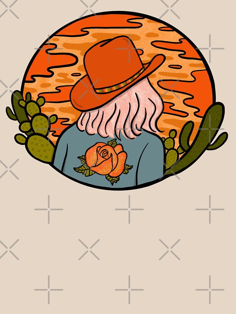 Desert Cowgirl by doodlebymeg