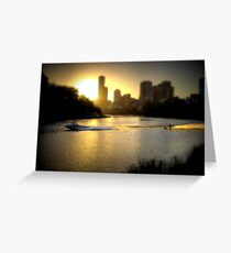 Moomba Masters (toned & tilted) Greeting Card
