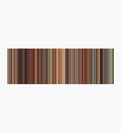 Moviebarcode: Spirited Away (2001) [Simplified Colors] Photographic Print