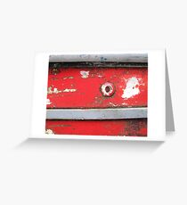 Boating over Greeting Card