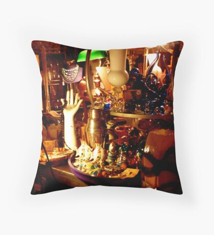 Second hand store Throw Pillow