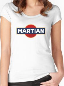 Martian martini Women's Fitted Scoop T-Shirt