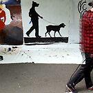 dog walk #2 by John Sunderland