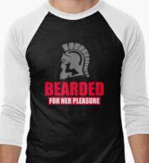 Bearded For Her Pleasure  Men's Baseball ¾ T-Shirt
