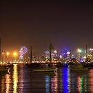 New year celebrations in Melbourne by Madhusudan