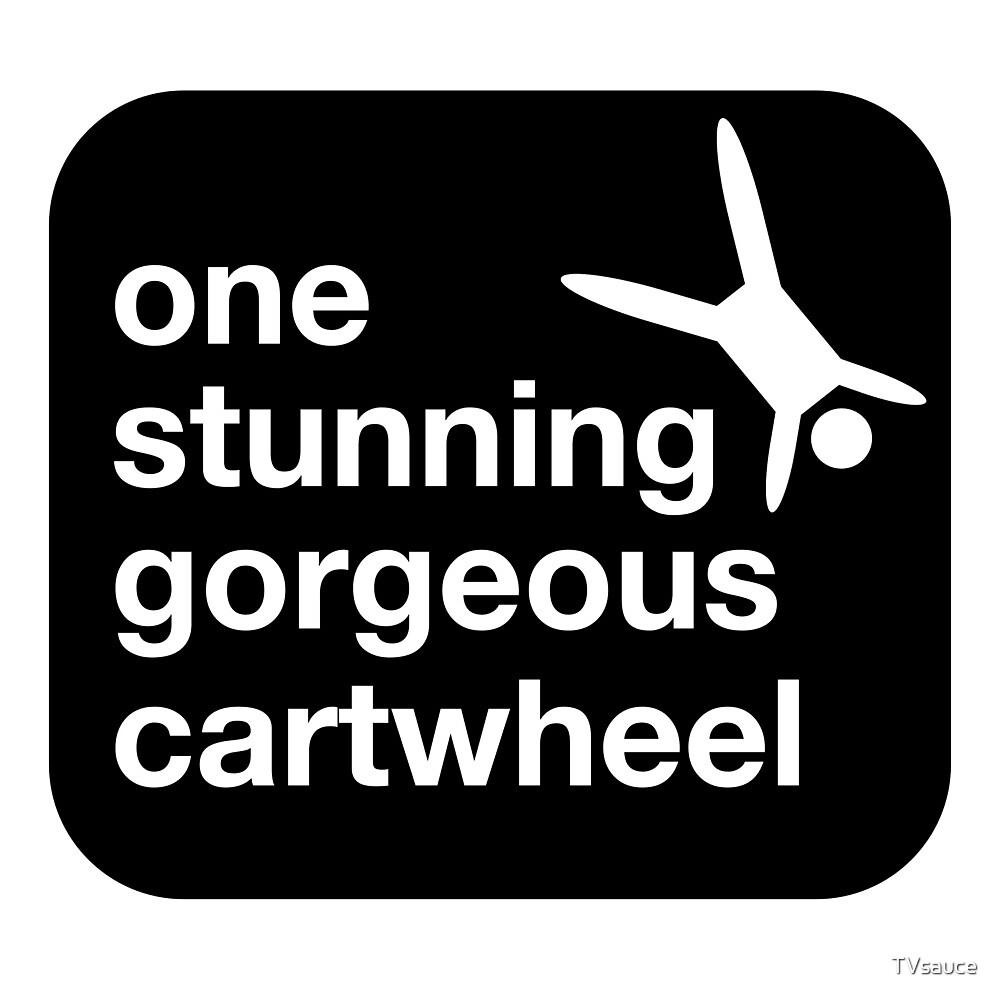 one stunning gorgeous cartwheel by TVsauce