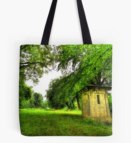 Gnomes Live Here Tote Bag