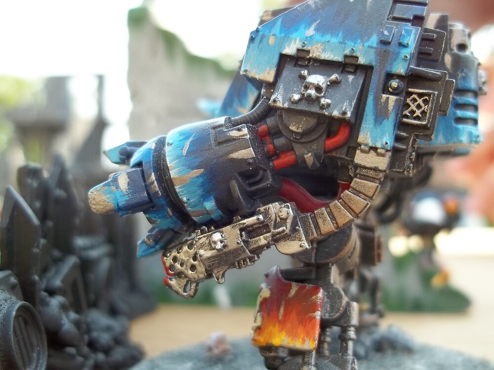 dreadnought side armour  by Mariomike