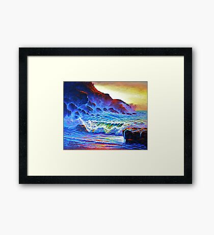 Forgotten Cove Framed Print