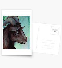 The Pensive Goat Postcards