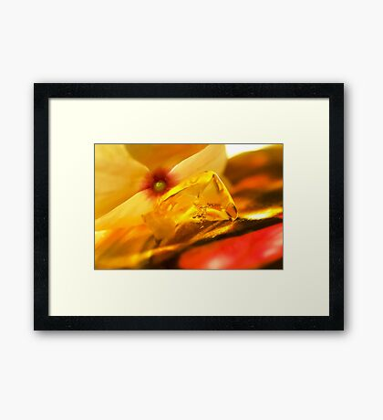 Light That Paints Framed Print