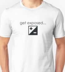 Get Exposed- Photographer T-Shirt T-Shirt