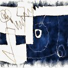 dark blue shape by Albert