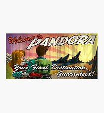 Welcome to Pandora Photographic Print
