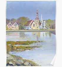 Mahone Bay, Nova Scotia Poster