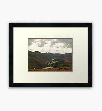 Pentland Hills Framed Print
