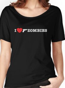 I <3 Zombies Women's Relaxed Fit T-Shirt