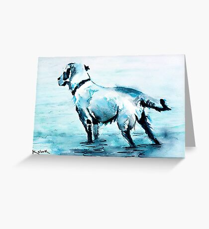 Dune Doggie Greeting Card