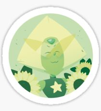 Pastel Peridot portrait Sticker