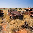 Old Vehicles Wrecks by Richard  Windeyer