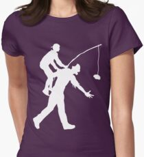 Zombie Ride Womens Fitted T-Shirt
