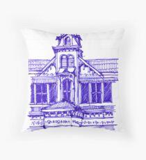 Architecture on Stanmore Avenue, Trinidad Throw Pillow