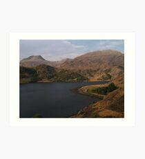 Loch Hourn Guesthouse Art Print