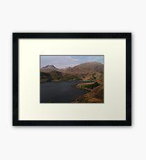 Loch Hourn Guesthouse Framed Print
