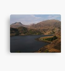 Loch Hourn Guesthouse Canvas Print
