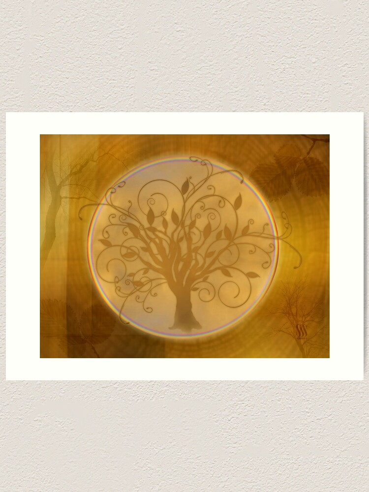 Alternate view of Flourish Tree Art Print