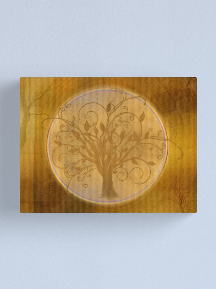 Alternate view of Flourish Tree Canvas Print