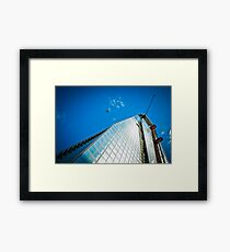 Shard Going Up Framed Print