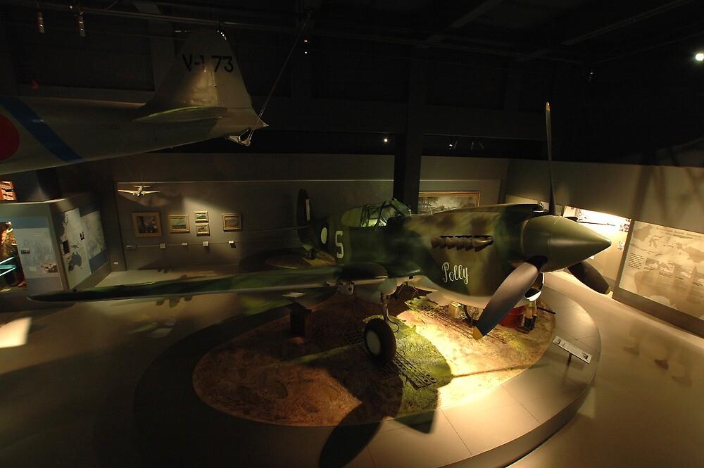 RAAF Kittyhawk @ Australian War Memorial by muz2142