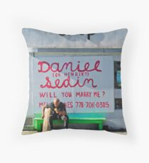Text Message  Throw Pillow