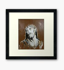 Crown Of Thorns (Re-worked) Framed Print