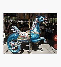 Carousel Dragon Photographic Print