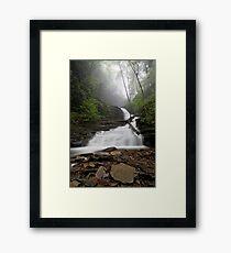 Huron Mist Framed Print