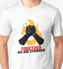 We are stronger together Slim Fit T-Shirt